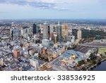 Melbourne City  Skyline Aerial...