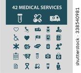 medicine services  medical... | Shutterstock .eps vector #338540981