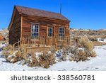 Wooden Miners Cabin In Bodie ...