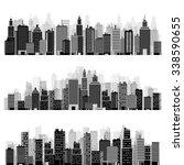 vector illustration. set of... | Shutterstock .eps vector #338590655
