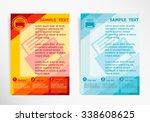 printer on abstract vector...   Shutterstock .eps vector #338608625