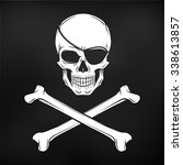 Jolly Roger With Eyepatch Logo...