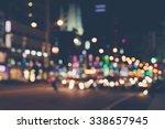 De Focused Blur Image Of City...