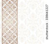 arabic invitation card. | Shutterstock .eps vector #338661227