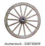 Old Wooden Wheel.