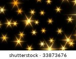 christmas stars | Shutterstock . vector #33873676