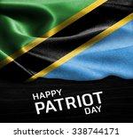 happy patriot day tanzania ... | Shutterstock . vector #338744171