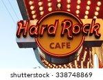 las vegas   hard rock cafe  as... | Shutterstock . vector #338748869