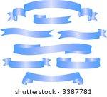 variants of banners. vector...   Shutterstock .eps vector #3387781