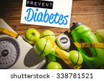 prevent diabetes against... | Shutterstock . vector #338781521