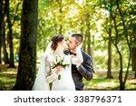 Wedding Photo. Happy Bride And...