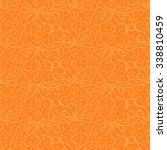seamless creative hand drawn... | Shutterstock .eps vector #338810459