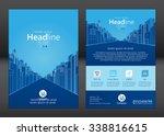 brochure template design.... | Shutterstock .eps vector #338816615