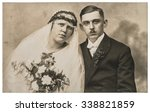 Vintage Wedding Photo. Just...