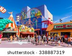 los angeles  usa   sep 27  2015 ... | Shutterstock . vector #338887319