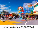 los angeles  usa   sep 27  2015 ... | Shutterstock . vector #338887349