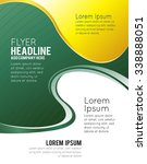 illustrated colorful layout... | Shutterstock .eps vector #338888051