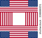 patriotic usa background in... | Shutterstock .eps vector #338888351