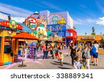 los angeles  usa   sep 27  2015 ... | Shutterstock . vector #338889341