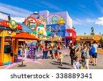 los angeles  usa   sep 27  2015 ... | Shutterstock . vector #338889341