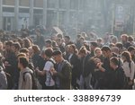 milan  italy   november 13 ... | Shutterstock . vector #338896739