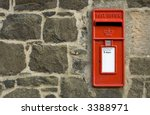 British Red Postbox  Letter Box ...