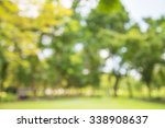 abstract blur city park bokeh... | Shutterstock . vector #338908637