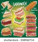 hand drawn vector illustration... | Shutterstock .eps vector #338960714