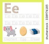 illustrator of e exercise a z... | Shutterstock .eps vector #338976185