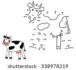 connect the dots to draw the... | Shutterstock .eps vector #338978219