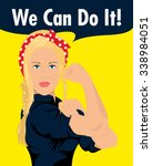 we can do it | Shutterstock .eps vector #338984051