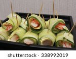 Fresh Cucumber Roll With Some...