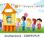 stickman illustration of kids...   Shutterstock .eps vector #338992919