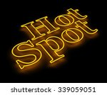 hot spot internet icon isolated ... | Shutterstock . vector #339059051