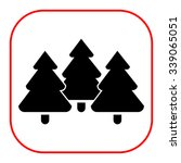 icon of tree fir trees | Shutterstock .eps vector #339065051