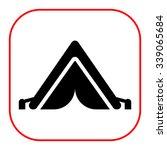tourist tent icon | Shutterstock .eps vector #339065684