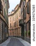 Small photo of Tortona (Alessandria, Piedmont, Italy): a typical street