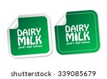 dairy milk stickers | Shutterstock .eps vector #339085679