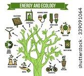 eco natural green energy bio... | Shutterstock .eps vector #339091064