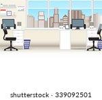office interior  business... | Shutterstock . vector #339092501