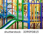 colorful children playground in