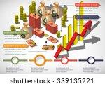 illustration of info graphic... | Shutterstock .eps vector #339135221