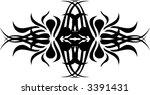calligraphical figures created... | Shutterstock .eps vector #3391431