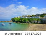 A Panorama View Of The Cornish...