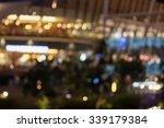 abstract bokeh light at night   Shutterstock . vector #339179384