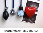 blood pressure meter medical... | Shutterstock . vector #339189761