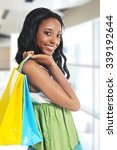 young african american woman... | Shutterstock . vector #339192644