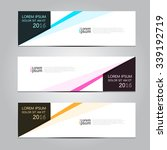vector design banner... | Shutterstock .eps vector #339192719