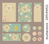 set of flyer  tag templates... | Shutterstock .eps vector #339194921