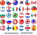 illustration of a big set of... | Shutterstock . vector #33919750